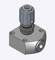 Throttle / Check Valve, Sub-plate mounting